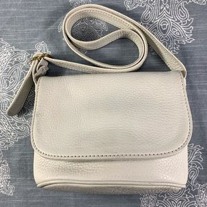Coach Sonoma white leather shoulder bag